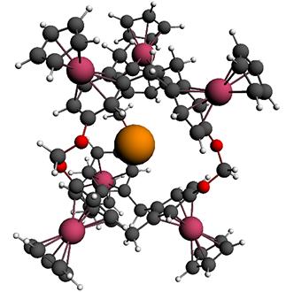 129-Xe in cryptophane: strong NMR deshielding