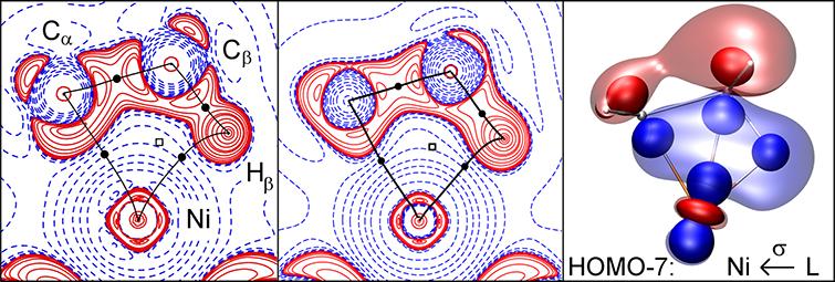 Charge density analysis of β-agostic Ni-H bond