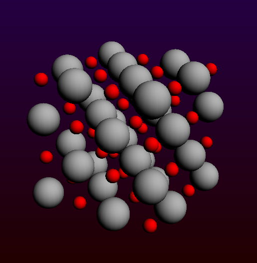 4x4x4 MgO cluster