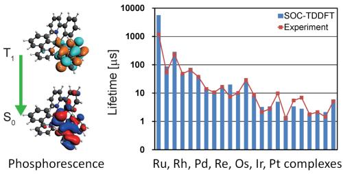 OLED phosphorescence SOC-TDDFT