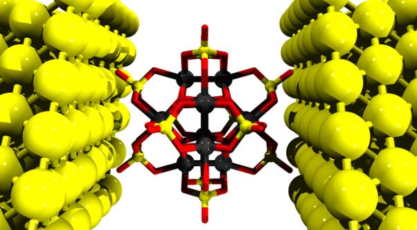 Dynamic electron sponge POM