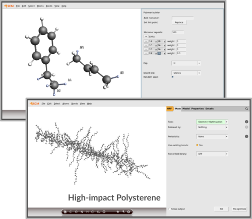Graphical User Interface - Software for Chemistry & Materials