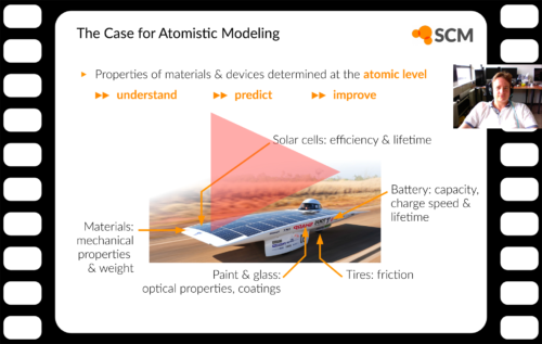 Webinar Atomistic Modeling Materials